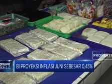 BI Proyeksi Inflasi Juni Sebesar 0,45%