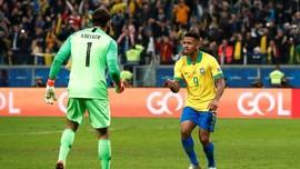 5 Momen Penting Brasil Lolos ke Semifinal Copa America