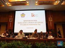 Akuntan Publik Laporan Keuangan Garuda Dibekukan 12 Bulan