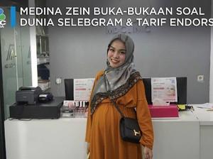 Sst! Medina Zein Buka-bukaan Soal Selebgram dan Tarif Endorse
