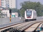 Proyek LRT Jabodebek Mentok di Lahan, Molor Deh