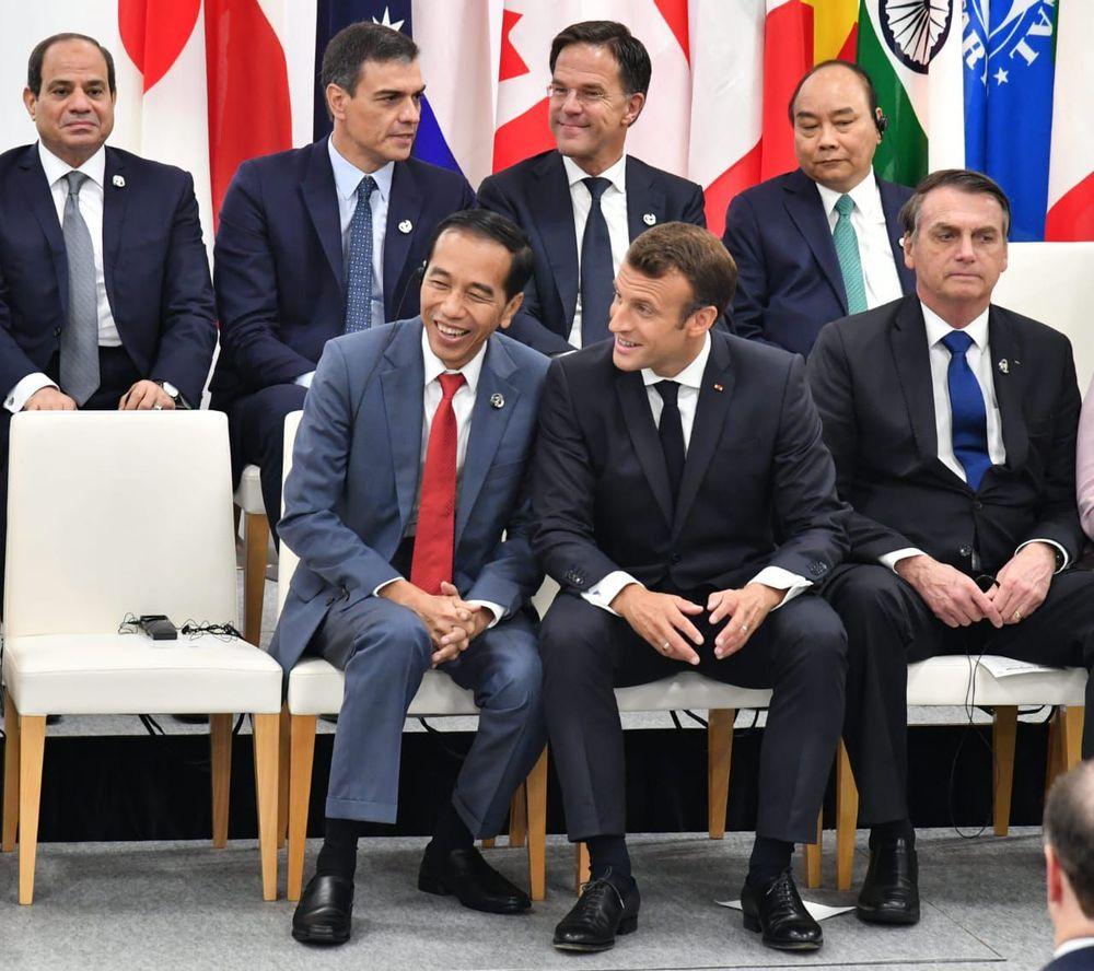 Hari kedua menghadiri Konferensi Tingkat Tinggi (KTT) G20, Sabtu, 29 Juni 2019, Presiden Joko Widodo mengikuti serangkaian kegiatan di Osaka, Jepang.
