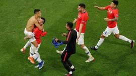 FOTO: Sanchez Antar Chile ke Semifinal Copa America 2019
