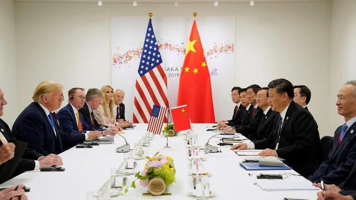 Pembicaraan damai dagang yang berlangsung antara Amerika Serikat (AS) dan China dikabarkan mengalami kebuntuan