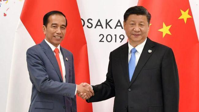 Pecah di Natuna, Jokowi-Xi Jinping Tetap 'Mesra' di Investasi