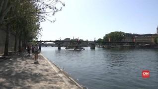 VIDEO: Gelombang Panas, Prancis Liburkan 4.000 Sekolah