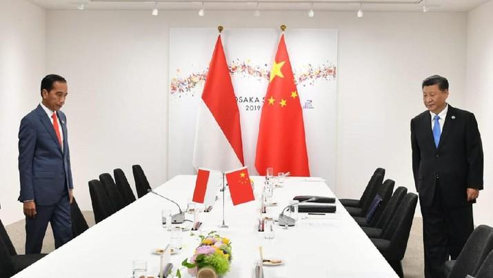 Begini Suasana Detik-detik Pertemuan Jokowi dengan Xi Jinping