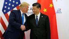 Trump Puji Cara China Tanggapi Protes Hong Kong