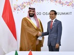 Temui Pangeran Arab, Jokowi Dorong Kilang Cilacap yang Macet