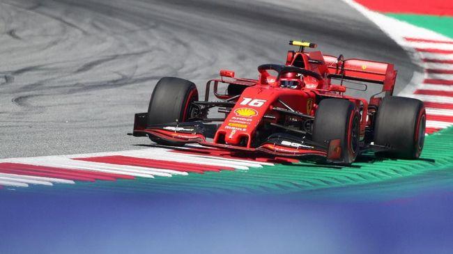 Hasil FP3 F1 GP Austria: Leclerc Tercepat, Hamilton Kedua