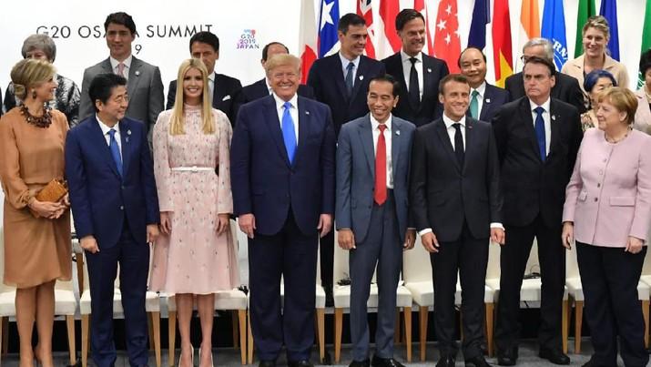 FOTO: Momen Akrab Jokowi dengan Pemimpin G-20