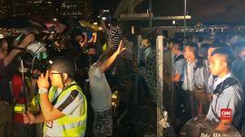 VIDEO: Penolak RUU Ekstradisi Hong Kong Berdemo Siang-Malam