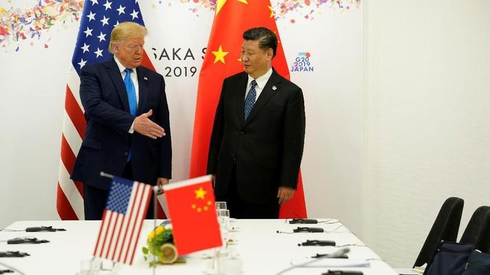AS Jadi Episentrum Baru Corona, Trump Telpon Xi Jinping
