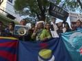 VIDEO: Pedemo Desak Pemimpin G20 Bahas Pelanggaran HAM China