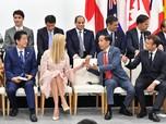 Pakai Inggris Medok, Jokowi Ngobrol & Ketawa dengan Ivanka