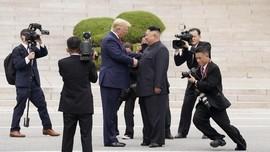Korut Puji Kunjungan Trump ke Zona Demiliterisasi