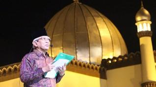 Gus Mus dan Ratusan Penyair ASEAN Berpuisi di Kudus