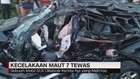 VIDEO: Minibus Ringsek Dihantam Kereta, 7 Orang Tewas