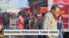 VIDEO: Kebakaran Rumah & Kios Dagang Tanah Abang