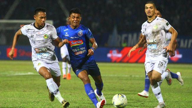 Hasil Liga 1 2019: Arema FC Kalahkan Semen Padang 1-0