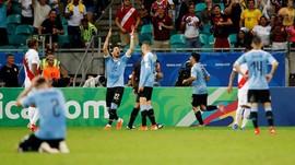 Copa America: Suarez Gagal Penalti, Uruguay Dikalahkan Peru