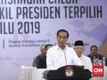 Usai Ditetapkan, Jokowi Ajak Prabowo-Sandi Ikut Bangun RI