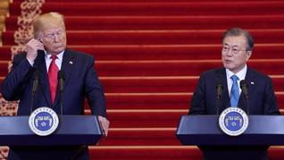 Presiden Korsel: Trump akan Bertemu Kim Jong-un di DMZ