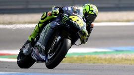 Nasib Sial Rossi Berlanjut di MotoGP Belanda