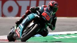 Quartararo Tercepat di FP3 MotoGP Inggris, Rossi Kedua