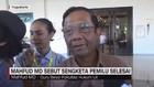 VIDEO: Mahfud MD Sebut Sengketa Pemilu Selesai
