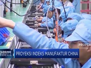 Proyeksi Indeks Manufaktur China