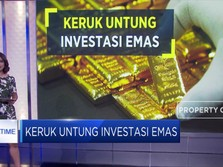 Keruk Untung Investasi Emas