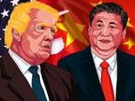 Trump: Jinping Bisa Selesaikan Kerusuhan di Hong Kong