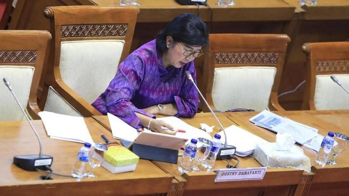 Calon Deputi Gubernur Senior (DGS) Bank Indonesia Destry Damayanti telah usai menjalani fit and proper test oleh Komisi XI DPR RI.
