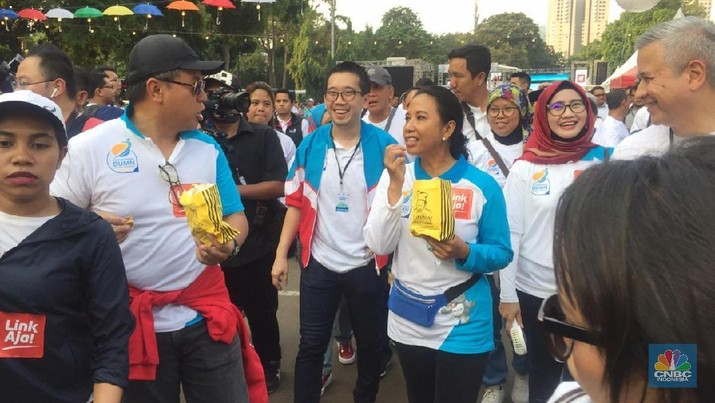 Menteri Badan Usaha Milik Negara (BUMN) Rini Soemarno akhinya berbicara seputar pembatalan kerja sama PT Garuda Indonesia (Persero)