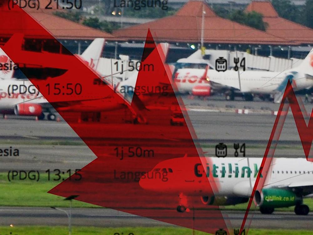 Harga Tiket Pesawat Turun 50% di Selasa-Kamis-Sabtu