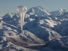 Mengintip Balon Google Mengudara dan Sebar jaringan Internet