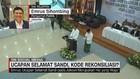 VIDEO: Ucapan Selamat Sandi, Kode Rekonsiliasi?