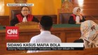 VIDEO: Pembacaan Pledoi Kasus Mafia Bola