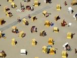 Cara Orang di Eropa Menghindari Terjangan Suhu Panas