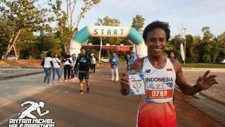 800 Pelari Antusias Ikuti Antam Nickel Half Marathon