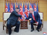 Trump Lega Kim Jong Un Muncul Lagi Usai Digosipkan Meninggal