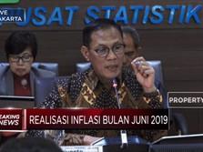 BPS: Inflasi Juni 2019 Tercatat 0,55%