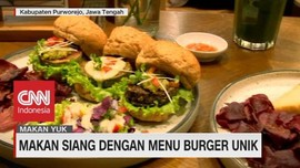 VIDEO: Makan Siang Dengan Menu Burger Unik