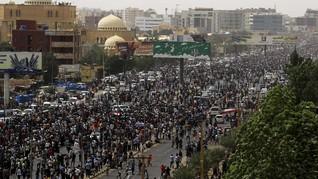 Empat Pelajar Ditembak Mati dalam Unjuk Rasa di Sudan