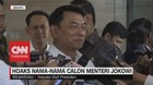 VIDEO: Hoaks Nama-Nama Calon Menteri Jokowi