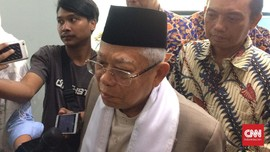 Ma'ruf Amin Akui Fatwa Haram MUI Tak Cukup Cegah Karhutla