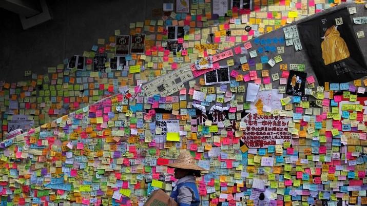 Begini Penampakan Gedung Parlemen Hong Kong Pasca Kerusahan