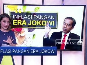 Inflasi Pangan Era Jokowi