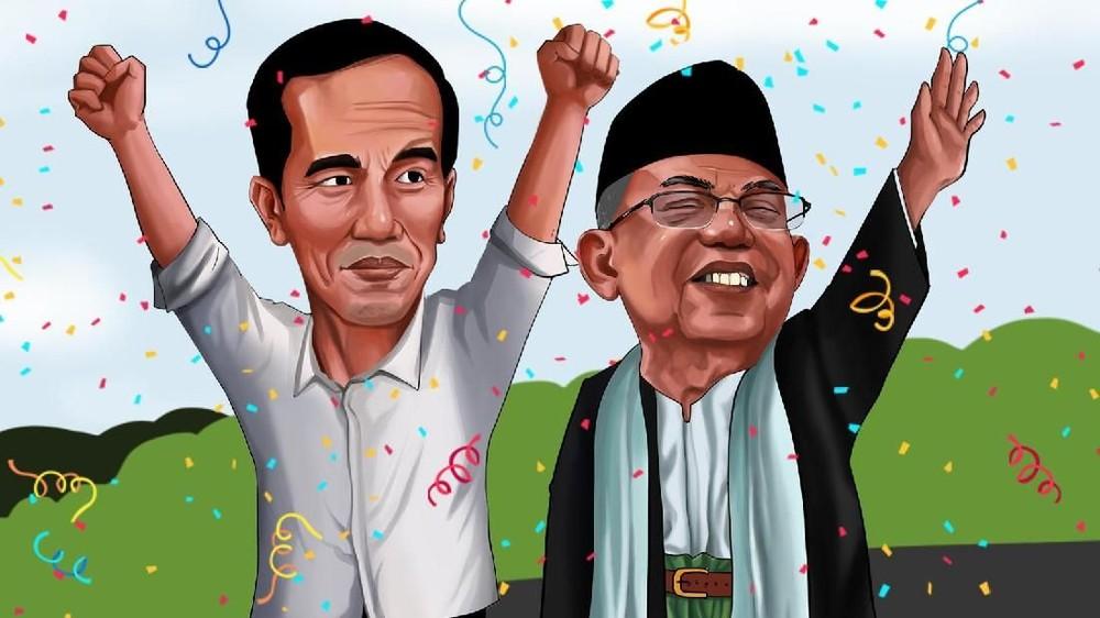 Jokowi Ditunggu Pekerjaan Berat di Periode II